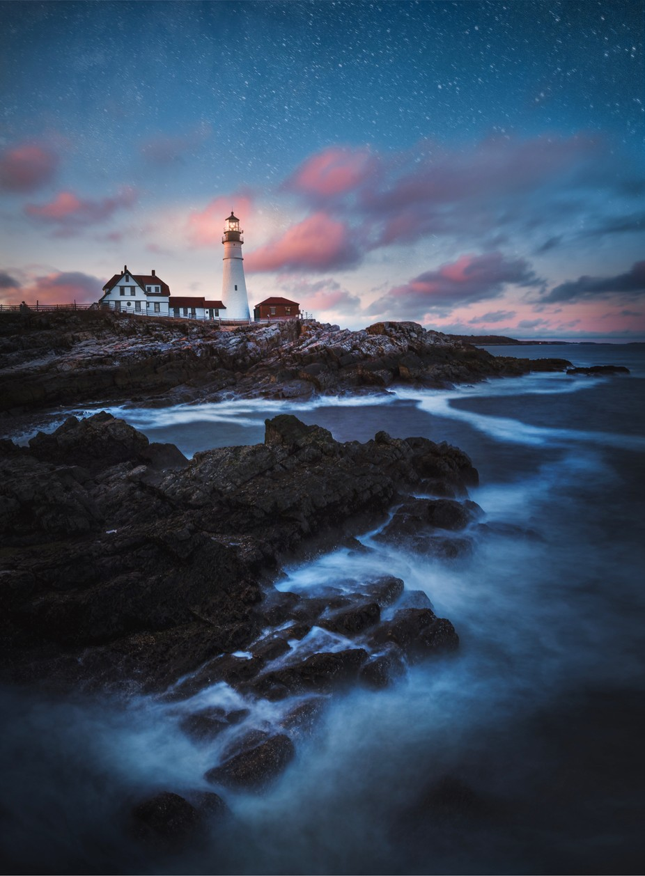 Portland Maine head light  by Ethanphelps - Image Of The Month Photo Contest Vol 32