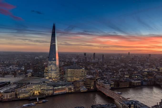 South Bank Sunset by SargeNI - Image Of The Month Photo Contest Vol 32