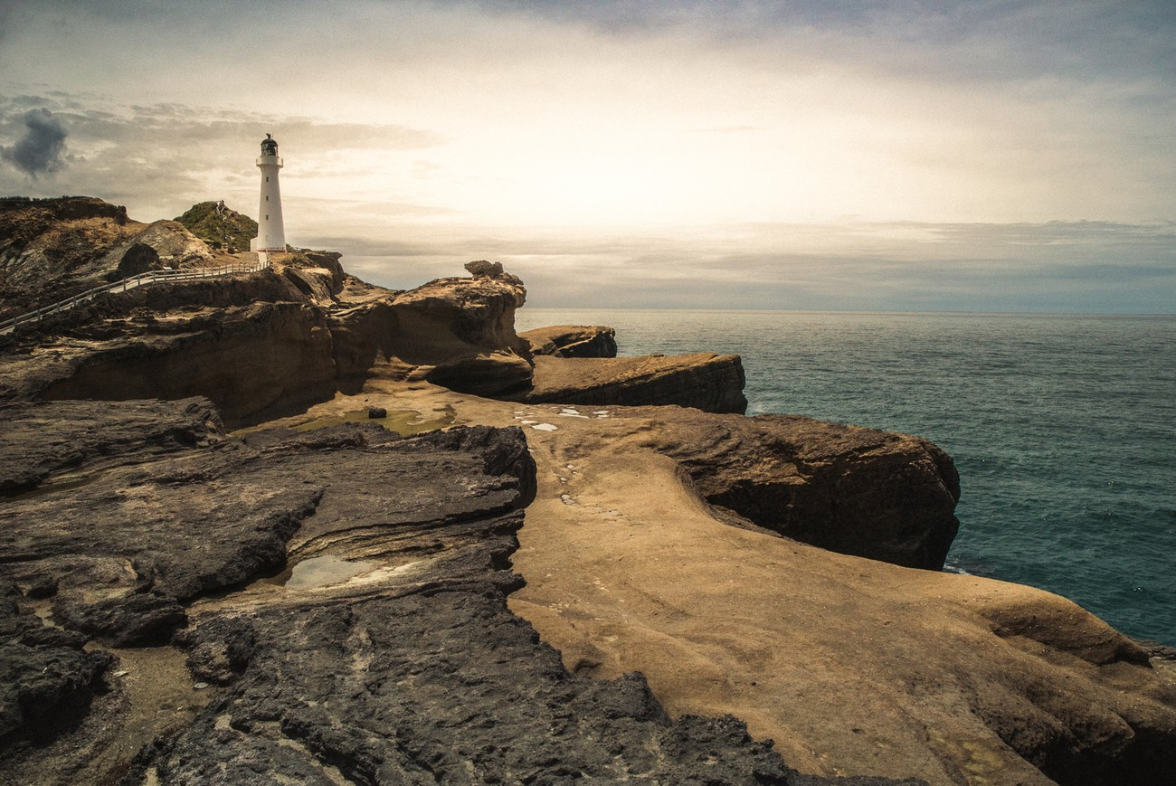 One of the most famous lighthouses in New Zealand, and there is a few !