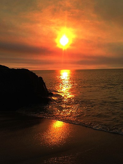Firery Sunset