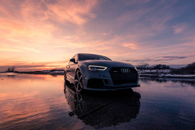 Audi RS3 by HathsinPhotography - Lakes And Reflections Photo Contest