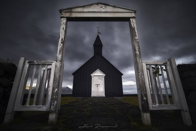 Buðir black church by JaviPozas - Image Of The Month Photo Contest Vol 32