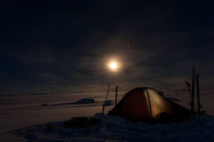 Finnmarkvidda by katarzyna_nizinkiewicz - Outdoor Camping Photo Contest