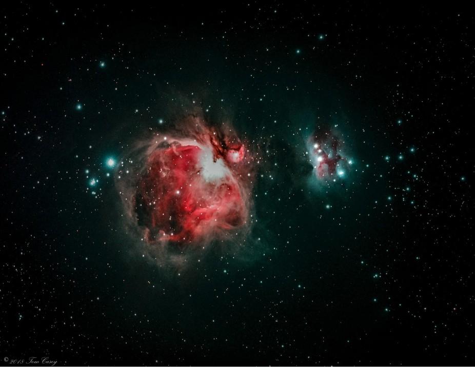 Orion Nebula Project 2017-2018