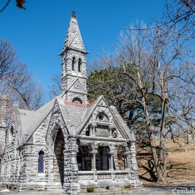 The Oakwood mortuary chapel and receiving vault was designed by J. L. Silsbee Construction and completed by contractor William Dickison in 1879. ...