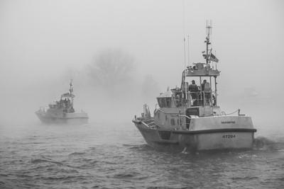 coast guard maneuvers