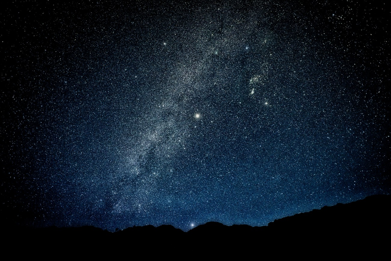 The night sky at the Big Bend Ranch State Park, Texas.