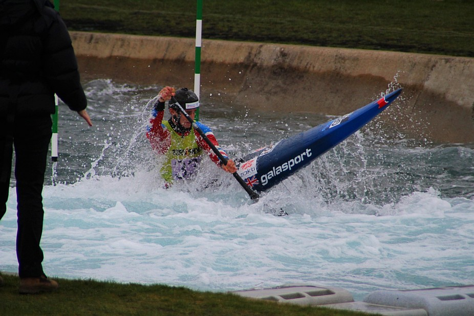 Lee valley white water slalom
