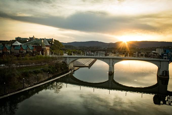 Sunset on Chattanooga by StanReesePhotography - Sunset And The City Photo Contest