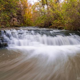 Another image in close range of Felker's Falls back in late October. With seasonal rain and the rest of the snow melting, these streams and ...