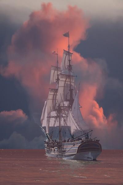 Sailing Away - Lady Washington  #097 of 365
