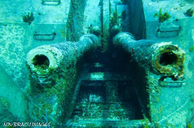 Tippetts guns Cayman Brac