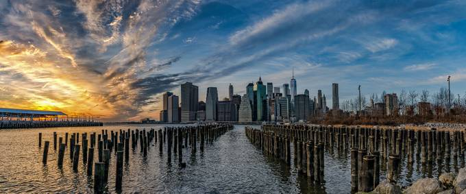 Sunset over Down town! by Marty315 - Sunset And The City Photo Contest