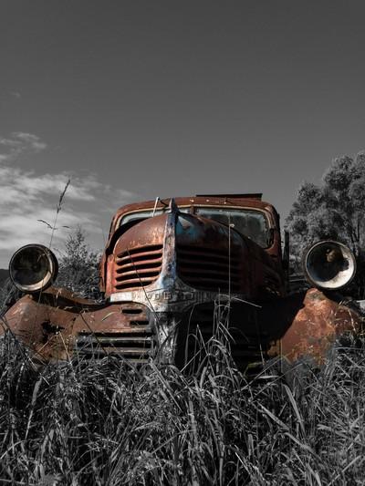 War veteran Dodge Truck