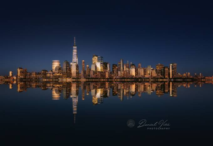 New York City at night. by Danielvg - My City Photo Contest