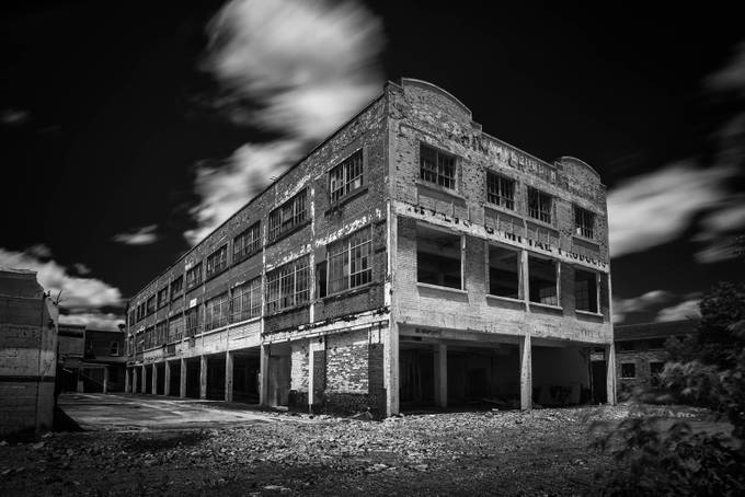 Abandoned Building by Davehook - Warehouses Photo Contest