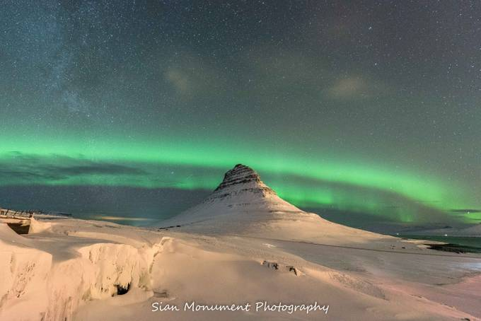 Kirkjufellfoss, Iceland by Sianmonument - The Night And The Mountains Photo Contest