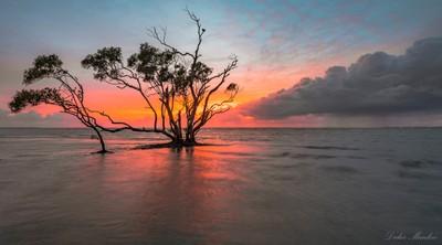 Beachmere Sunrise. Qld. Australia