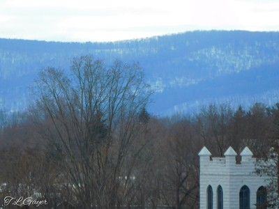 Church and Mountain View