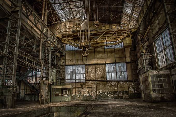 No future by patrickterschlusen - Warehouses Photo Contest