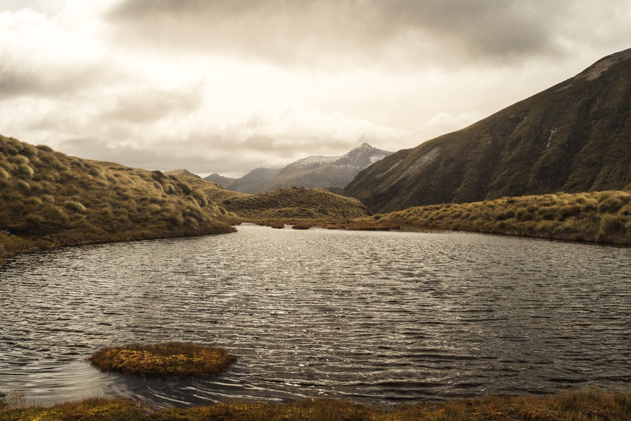 I was surprised by the number of tarns on mount Burns hills and mountains in Fiordland national park. A great Lord of the rings style track !