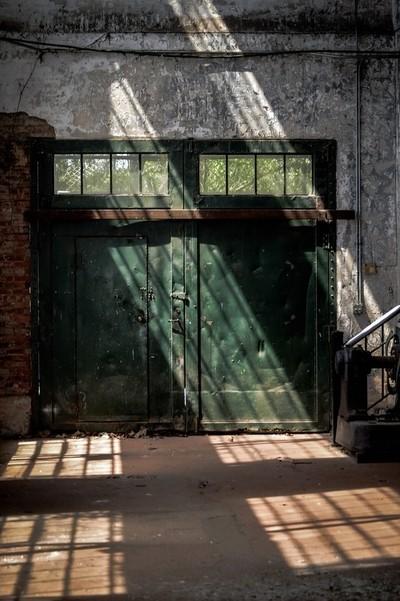 Old Industrial Doors 2