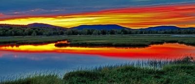 Nerepis Marsh Sunset HDR
