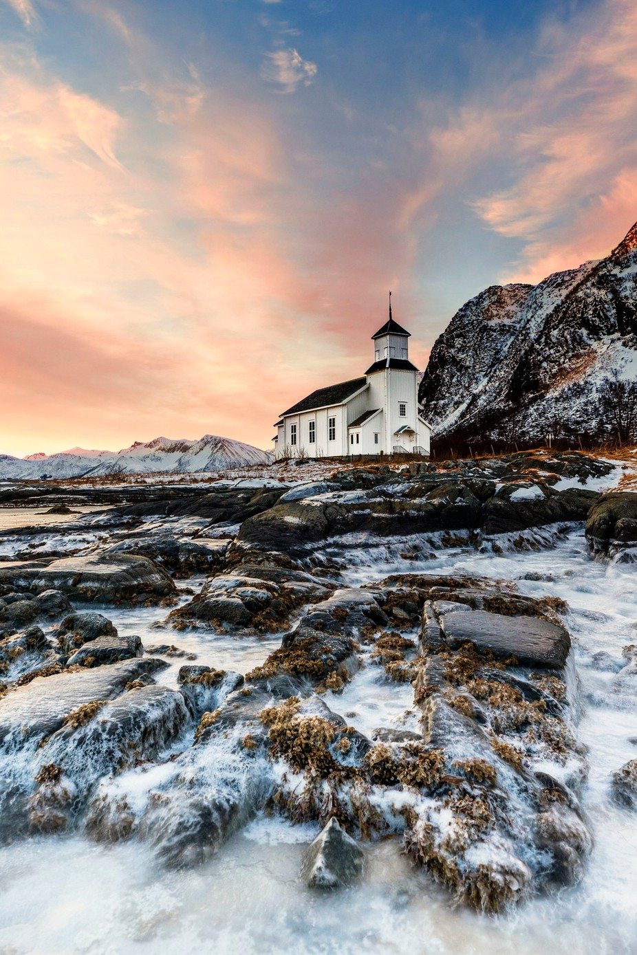 Little White Church by lddove - Boulders And Rocks Photo Contest