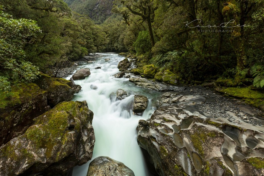 Fiordlands Chasm Falls