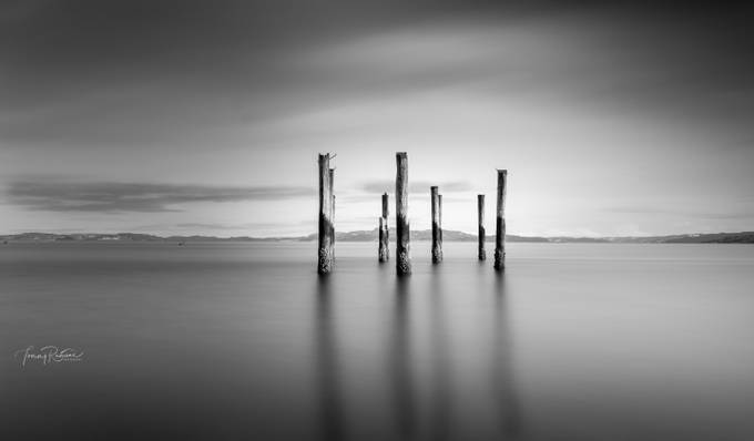 By Trondheimsfjorden  by TommyRamone - Black And White Landscapes Photo Contest