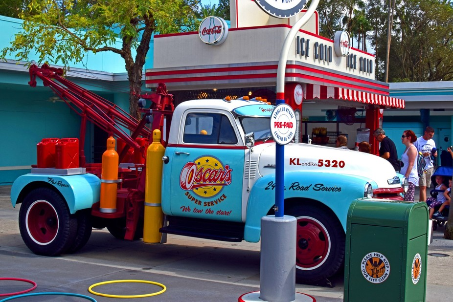 Oscar's Pickup truck, Disney's Hollywood studios.