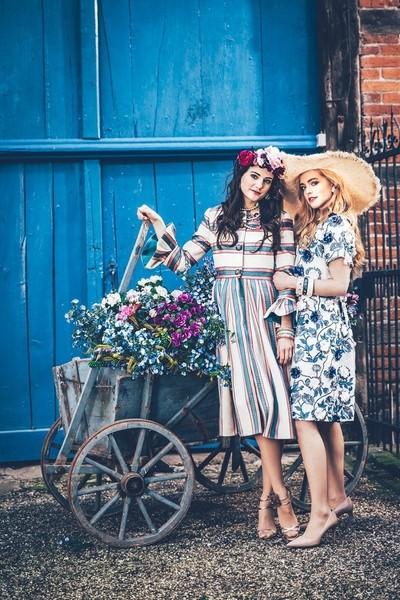 Spring Blue Girls