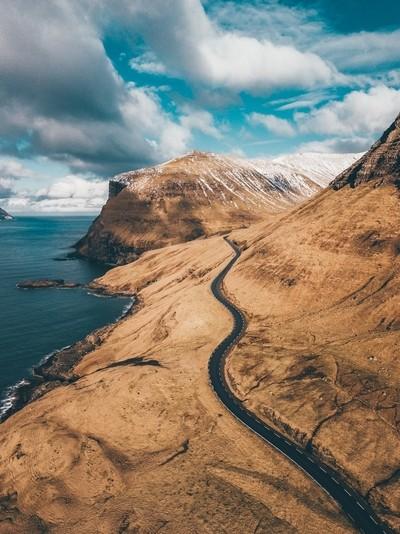 Adventure behind next curve