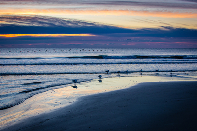 First light of the day in Litchfield beach, SC