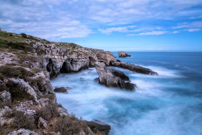 Siracusa coast by Fotonaturalistica - Spectacular Cliffs Photo Contest