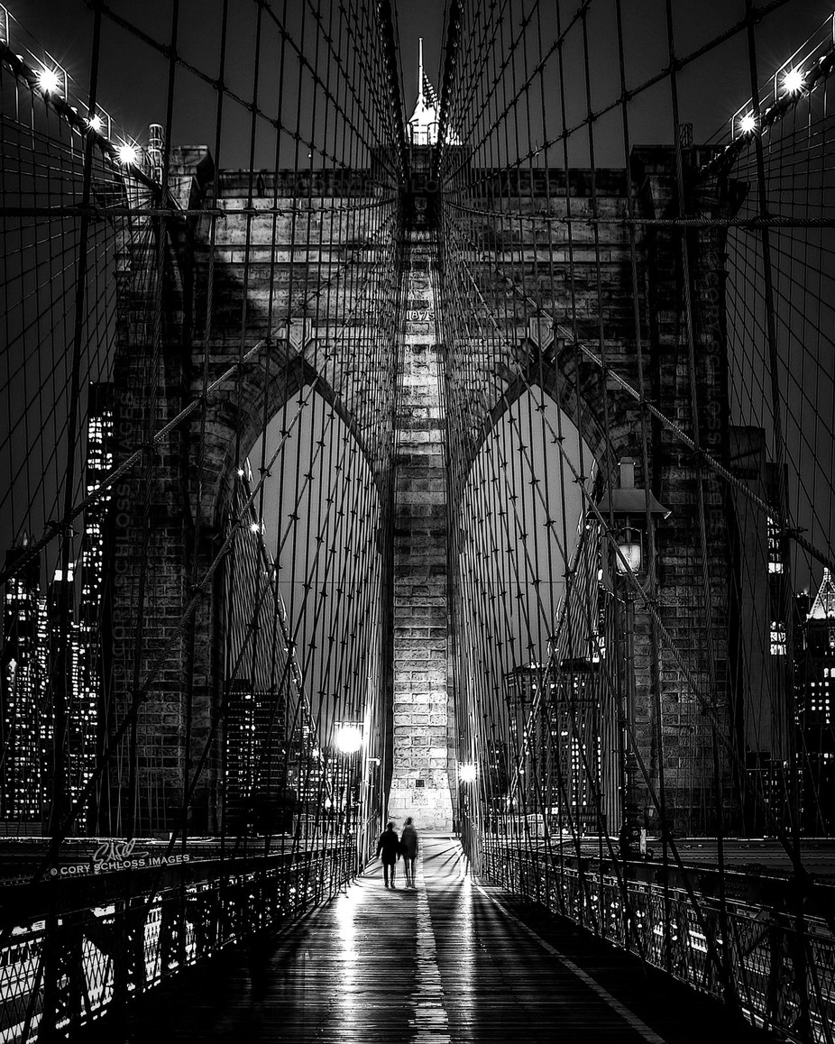 Midnight Love Affair by CorySchlossImages - Bridges In The Night Photo Contest