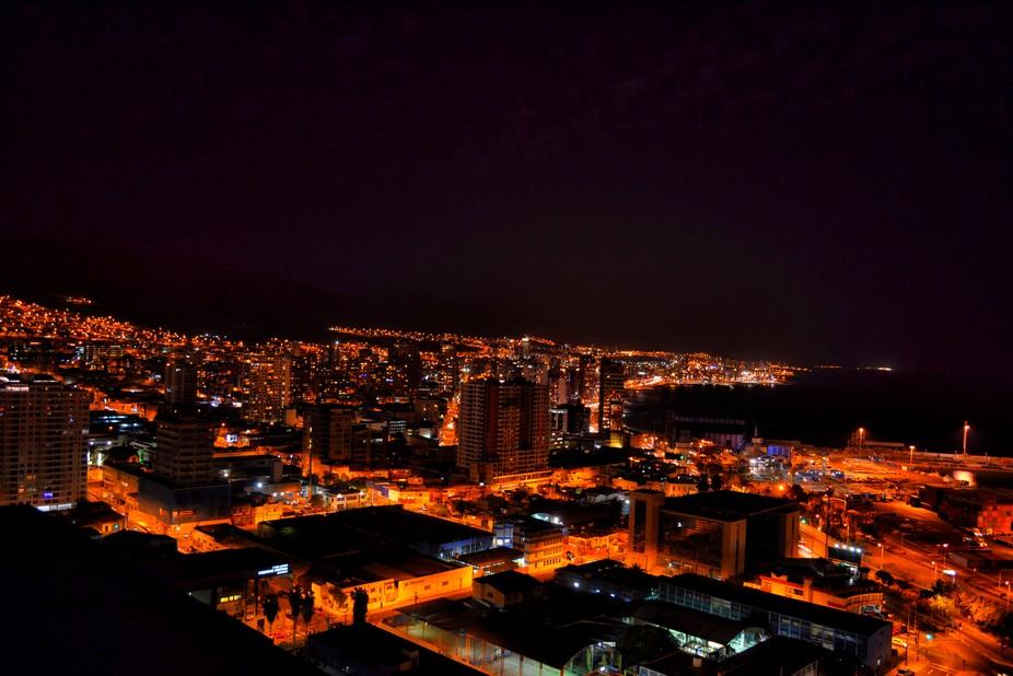 Antofagasta de noche