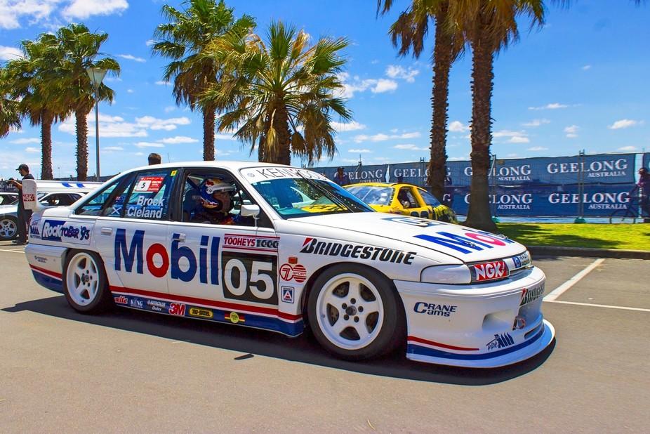 Peter Brock race car