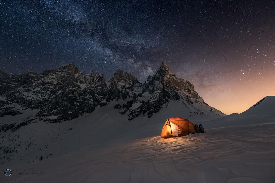 Con questa prima via Lattea del 2018 si apre la stagione notturna! ????⛺  Una delle notti più ...