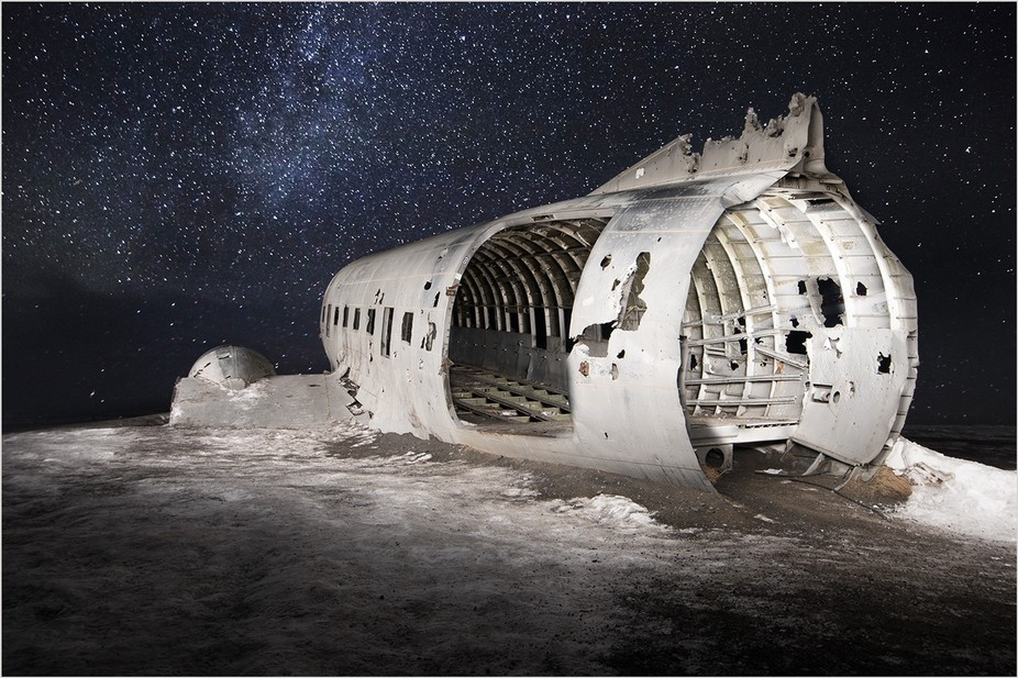 Plane Wreck In The Stars