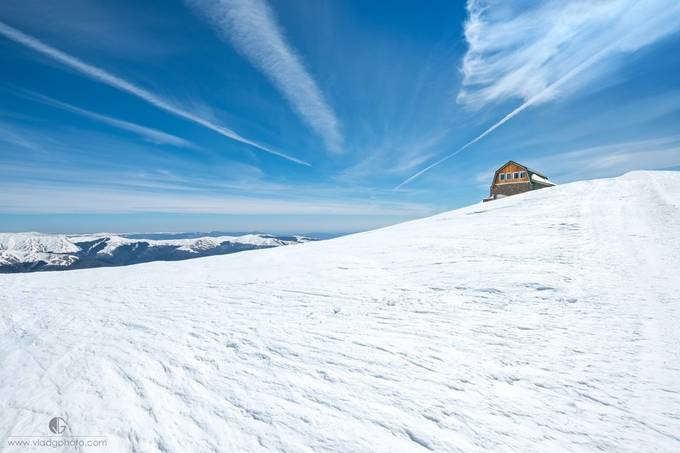 Cabin on the mountain by vladgphoto - Creative Landscapes Photo Contest vol3