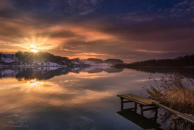 Sunrise at the lake by saintek - Social Exposure Photo Contest Vol 16
