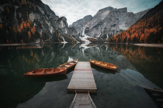 Lake Braies by nikolaialexiev - Rule Of Seconds Photo Contest vol1