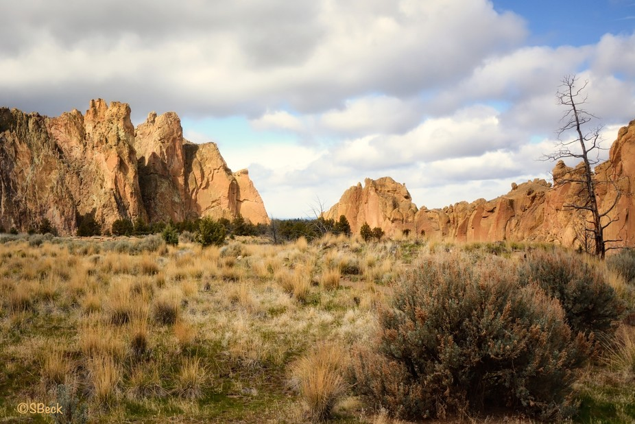 Wandering through the high desert near Prineville, Oregon, I discovered Smith Rock State Park.......