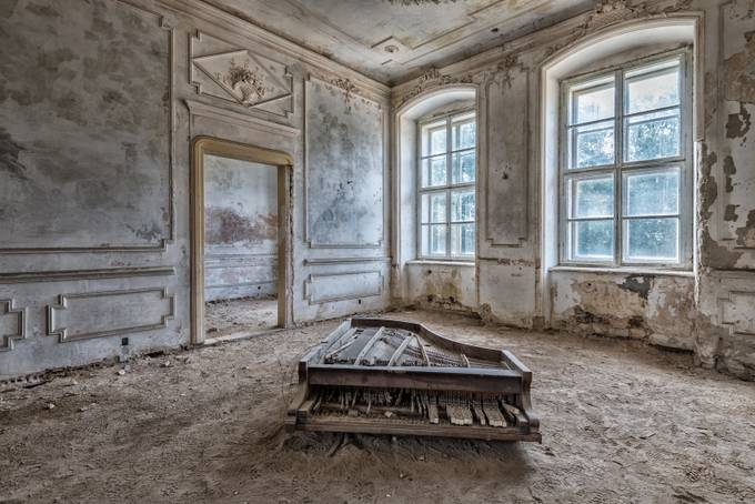 The Piano by guenther710 - Abandoned Photo Contest