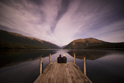 Lake by Moonlight