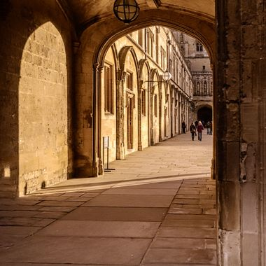 From the streets, buildings and interiors of Oxford, UK