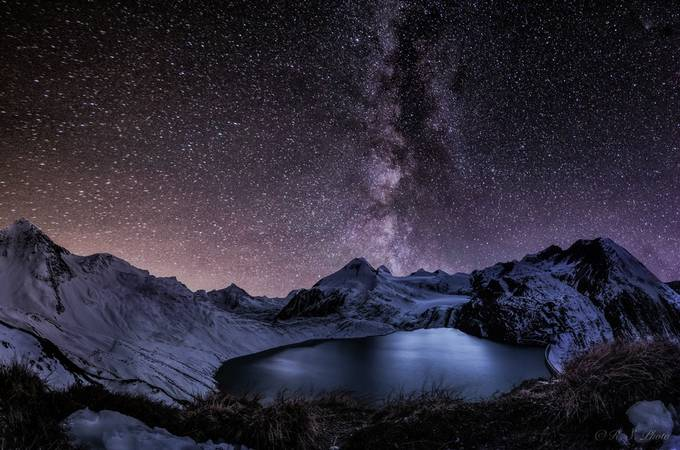 Griesgletscher Pano  by RamonaPhoto - The Night And The Mountains Photo Contest