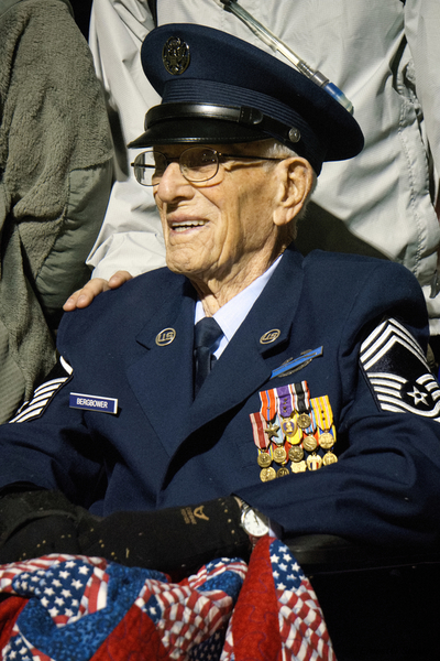 Bataan Veteran - Retired U.S. Air Force Chief Master Sgt. Harold Bergbower, 97,