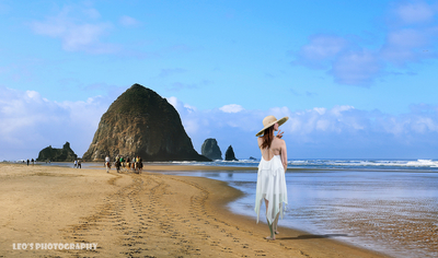 Cannon Beach In The Summer